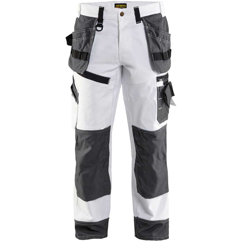 Målarbyxa X1500 White/Dark grey