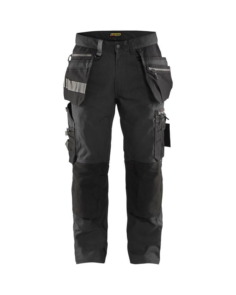Craftsman trousers Mörkgrå/Svart