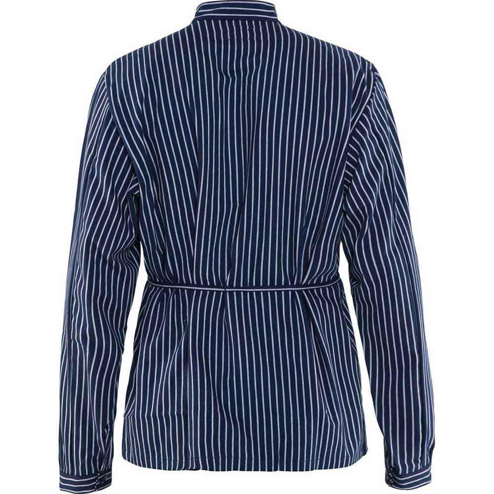 Timmermansskjorta Marinblå/Vit