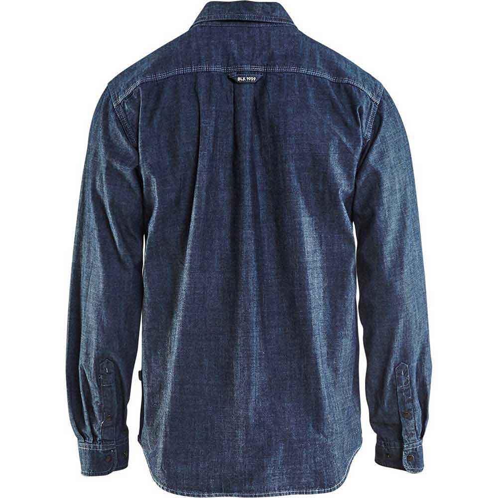 Denimskjorta Marinblå