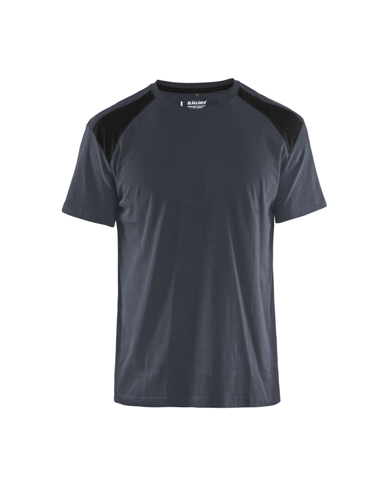 T-Shirt 2-färgad Blåkläder Mörkgrå/Svart