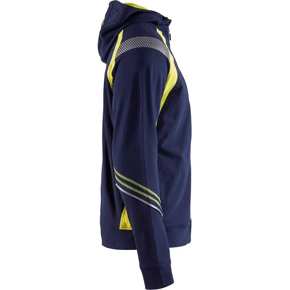 Visible Hood Jacket Marinblå/Gul