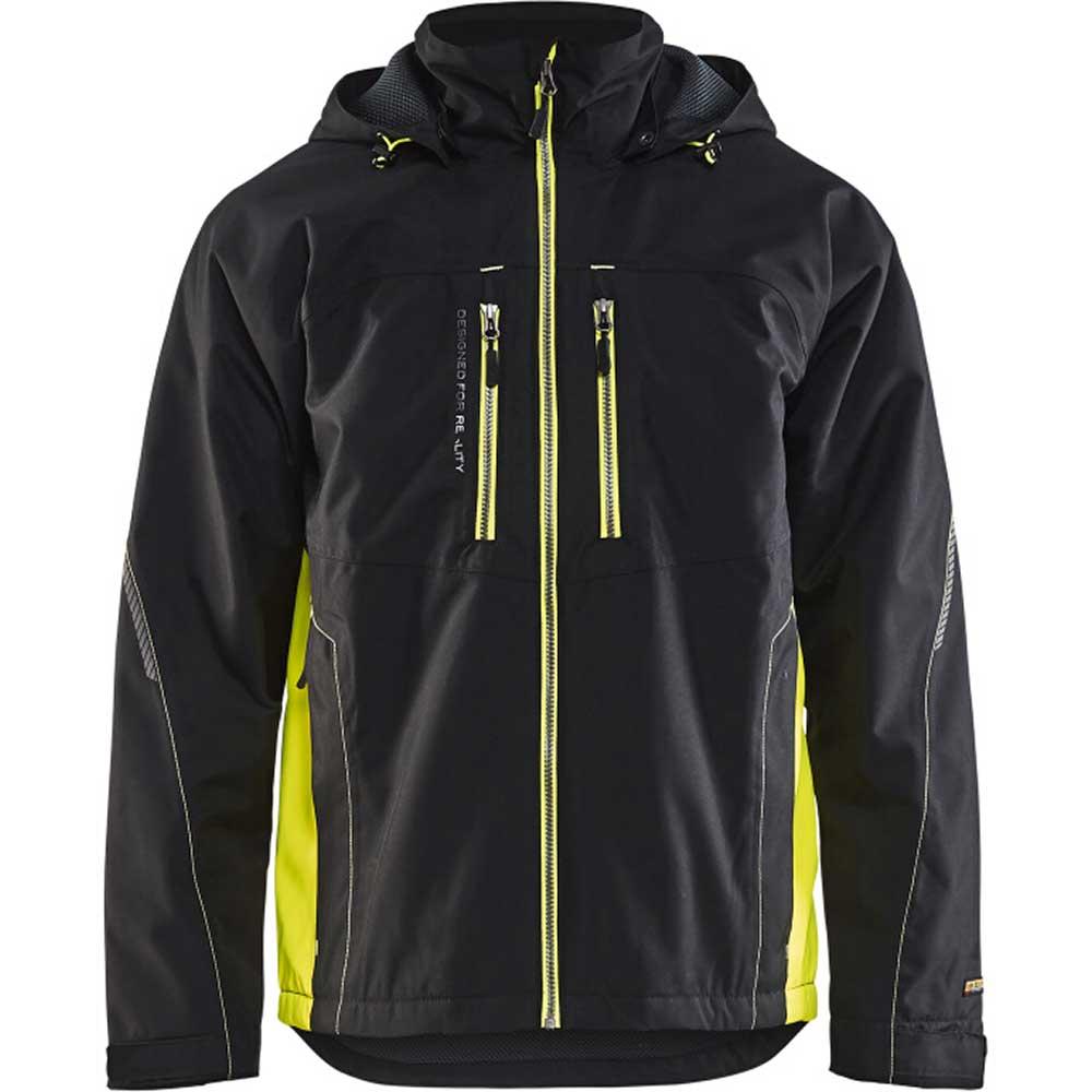 Functional jacket Svart/Varselgul