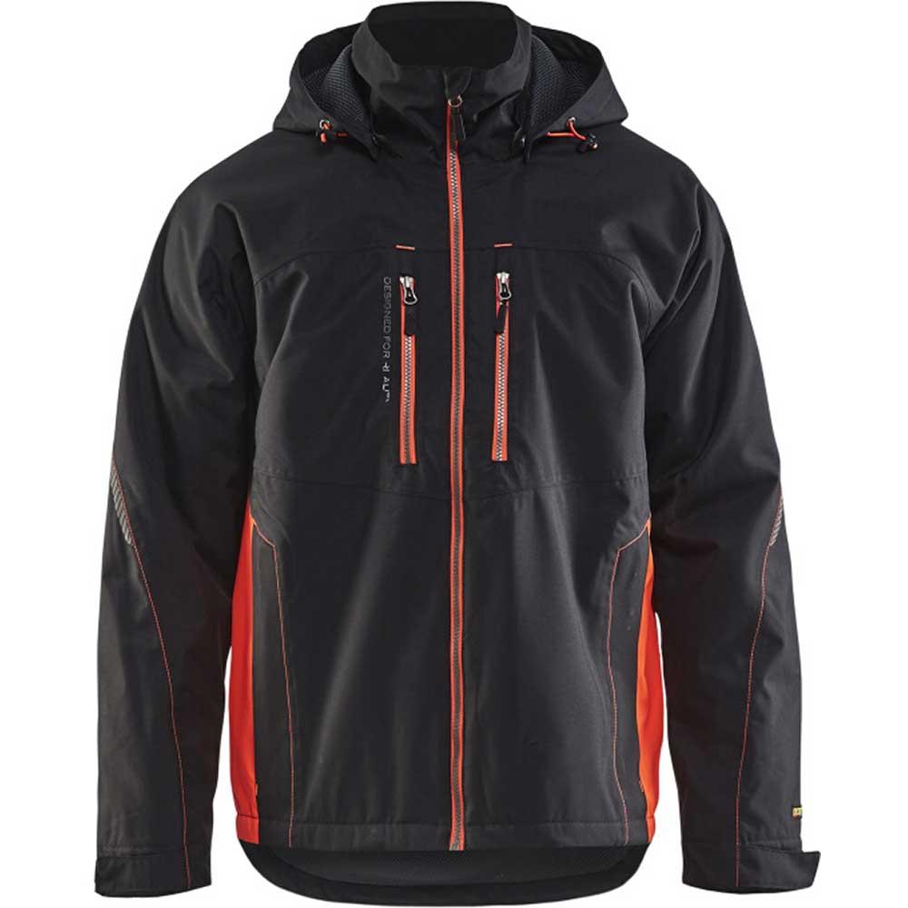Functional jacket Svart/Varselröd