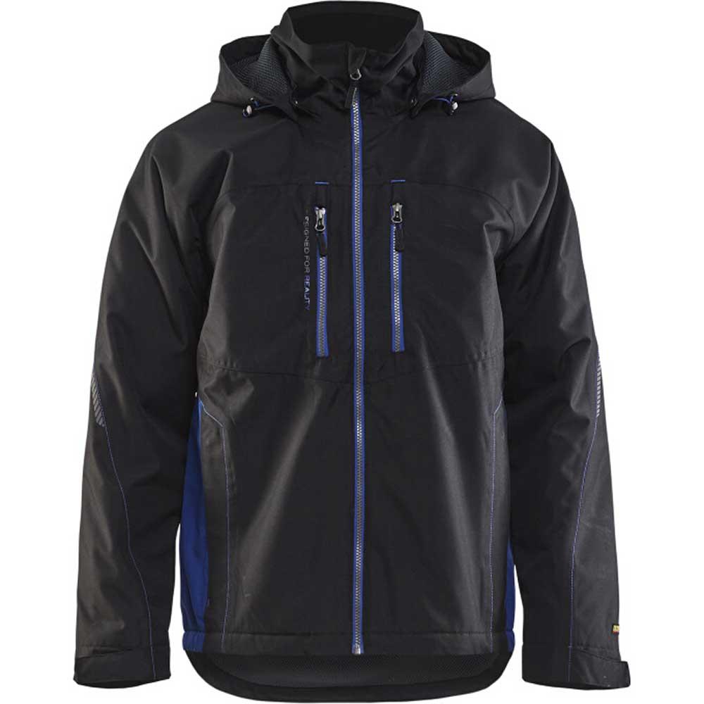 Functional jacket Svart/Kornblå