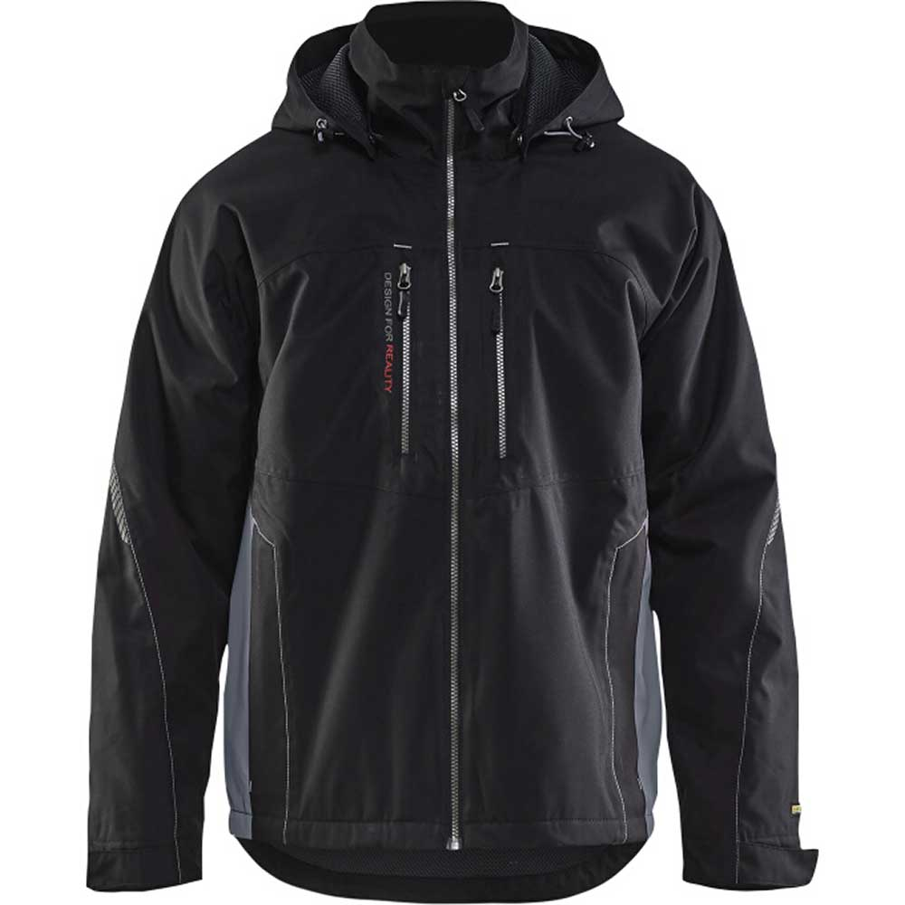 Functional jacket Svart/Grå