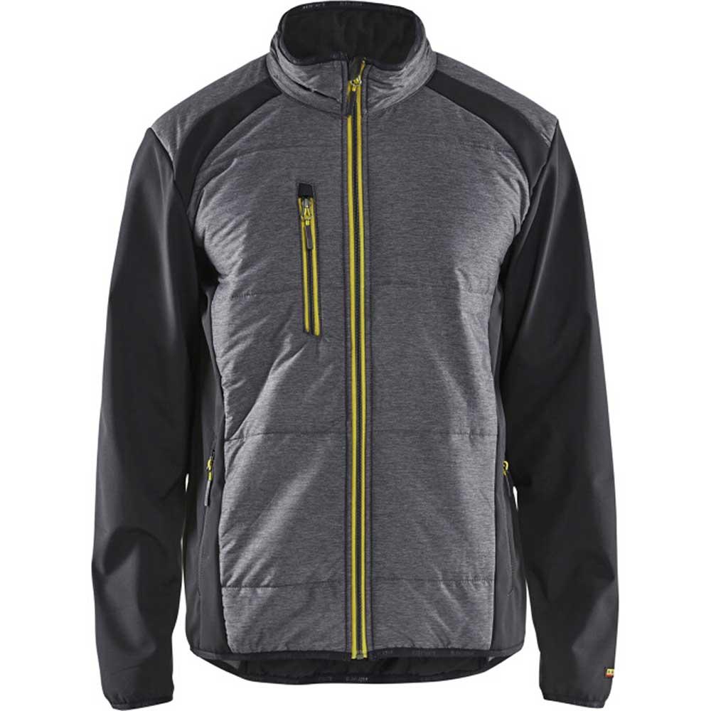 Insulation jacket Svart/Varselgul