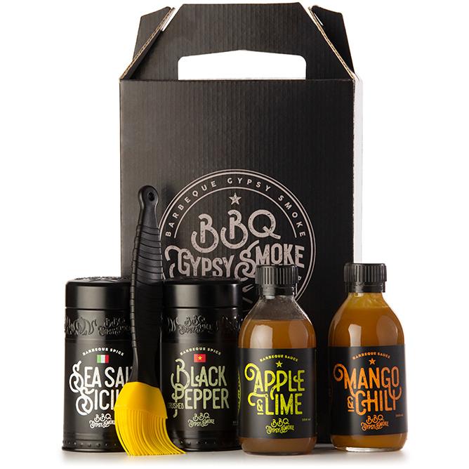 BBQ Gypsy Smoke Delux svart