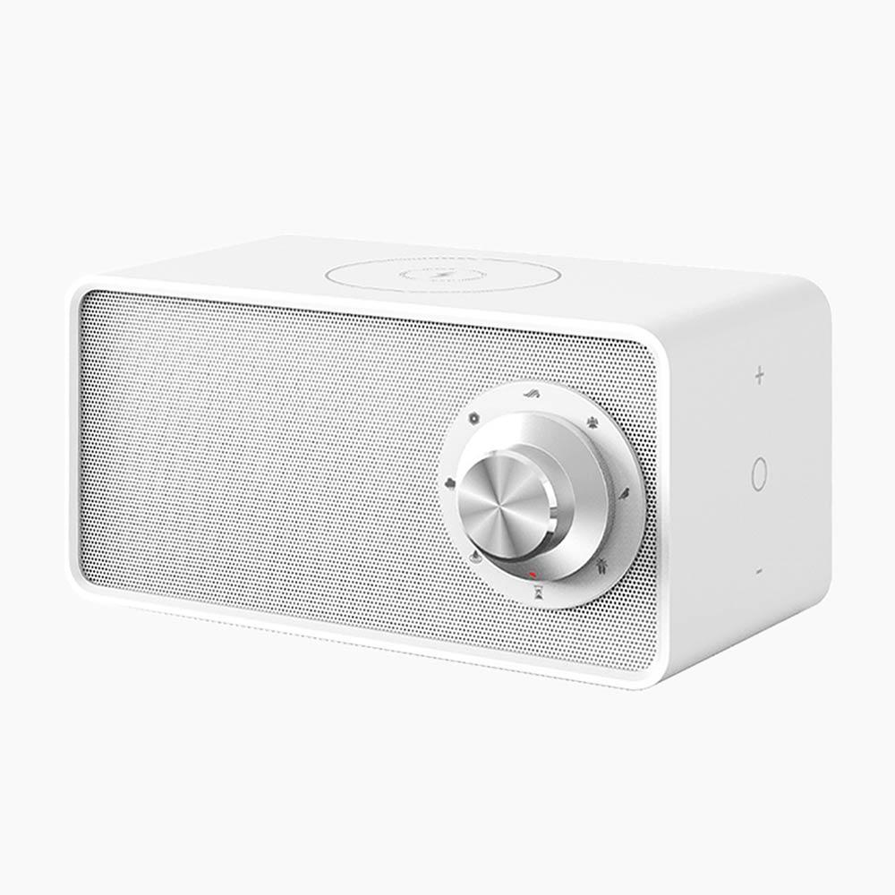 White Noise högtalare & laddare vit