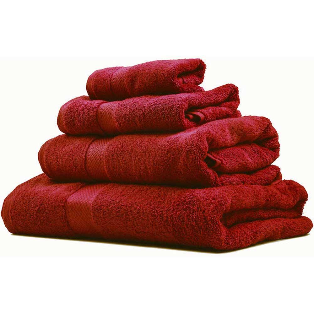 Handduk Lord Nelson 50x70 cm Röd
