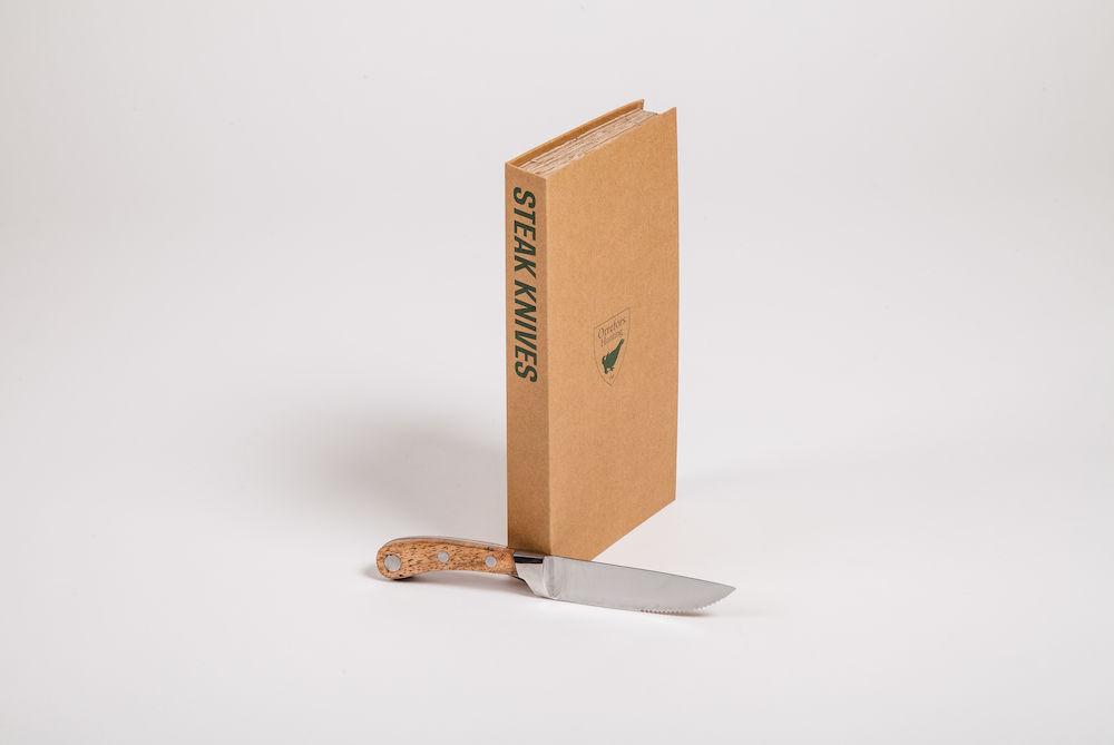 Köttknivar 4-pack Stål