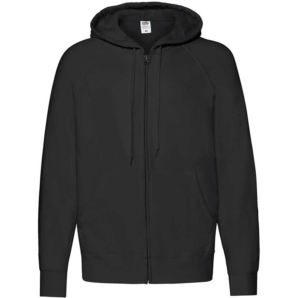 Lightweight Hooded Sweat Jacket  svart