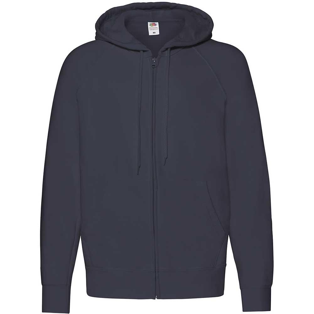 Lightweight Hooded Sweat Jacket  Deep Navy
