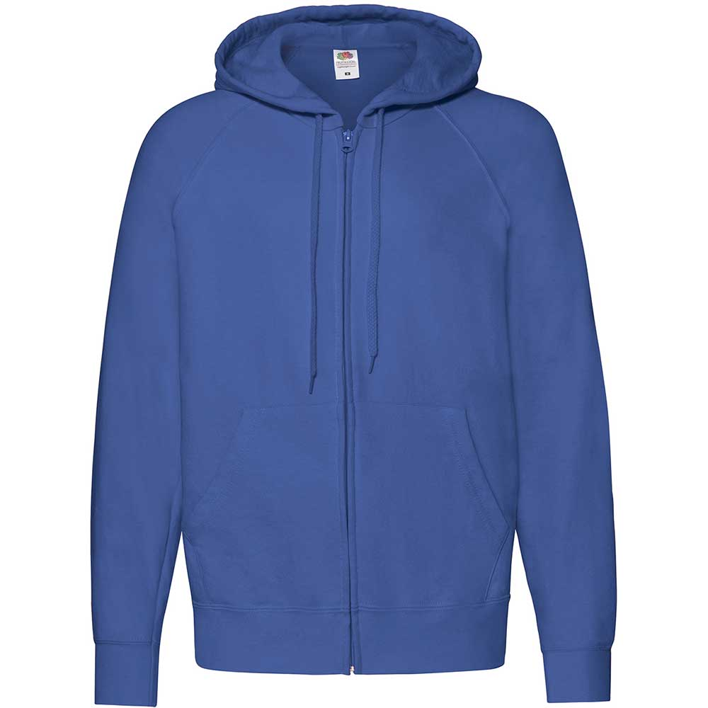 Lightweight Hooded Sweat Jacket  Royal