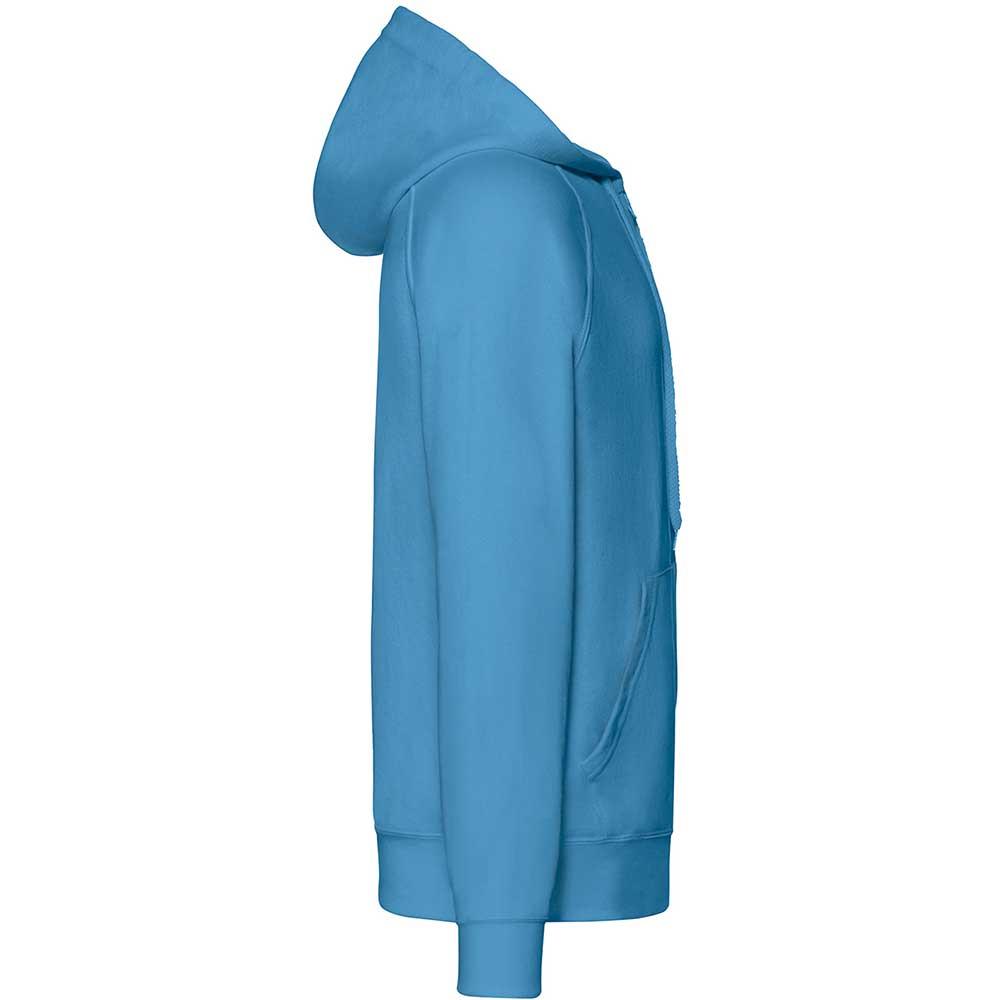 Lightweight Hooded Sweat Jacket  Azure Blue