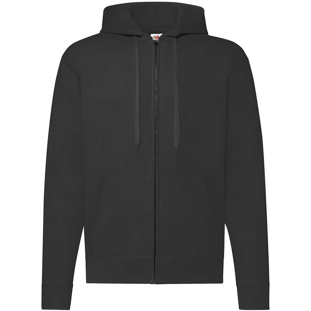 Classic Hooded Sweat Jacket svart
