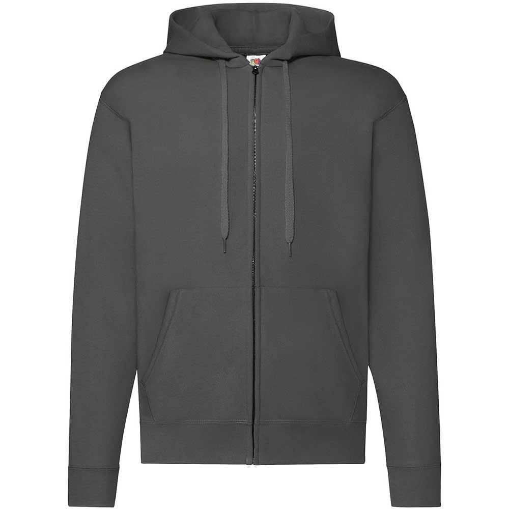 Classic Hooded Sweat Jacket Light Graphite