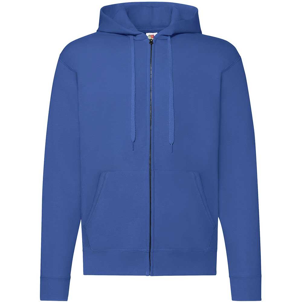 Classic Hooded Sweat Jacket Royal Blue
