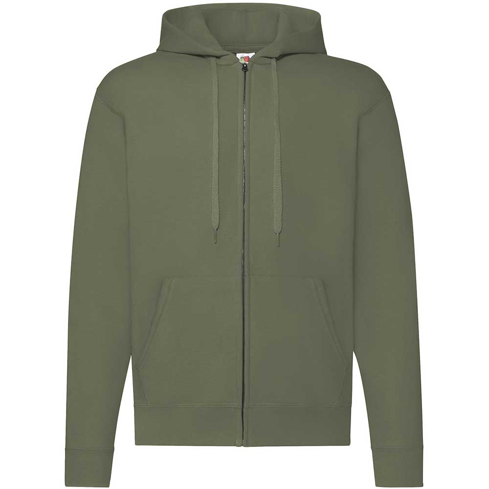 Classic Hooded Sweat Jacket Classic Olive