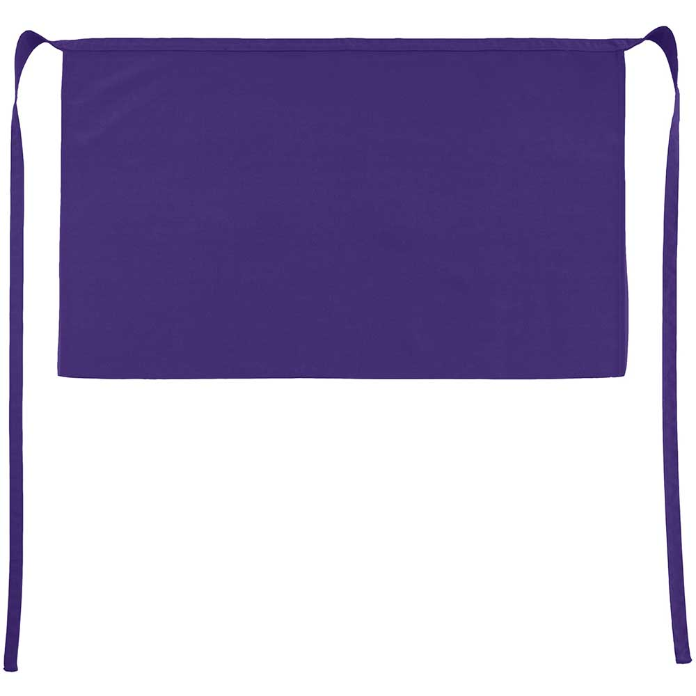 Brussels Short Bistro Apron purple