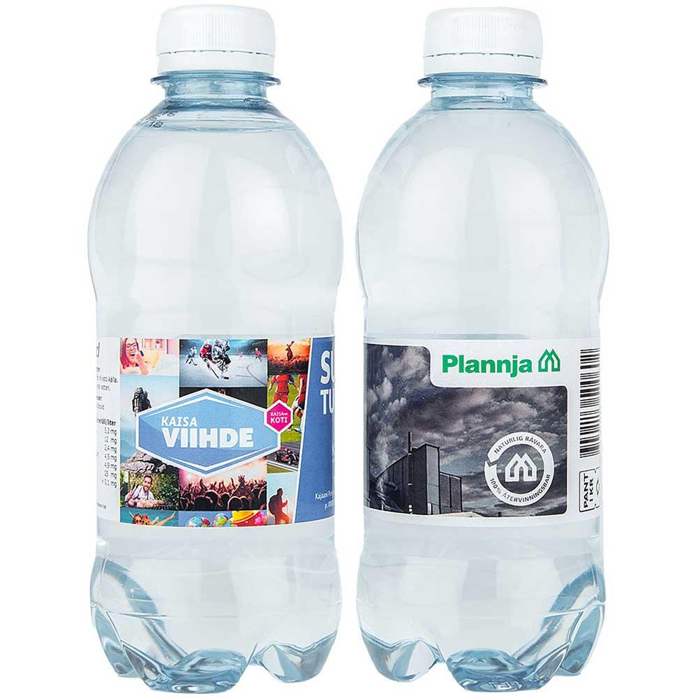 Vatten kolsyrat 35cl med egen etikett vit