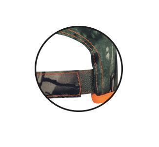 Keps Clay camomönstrad  Kamo/Orange