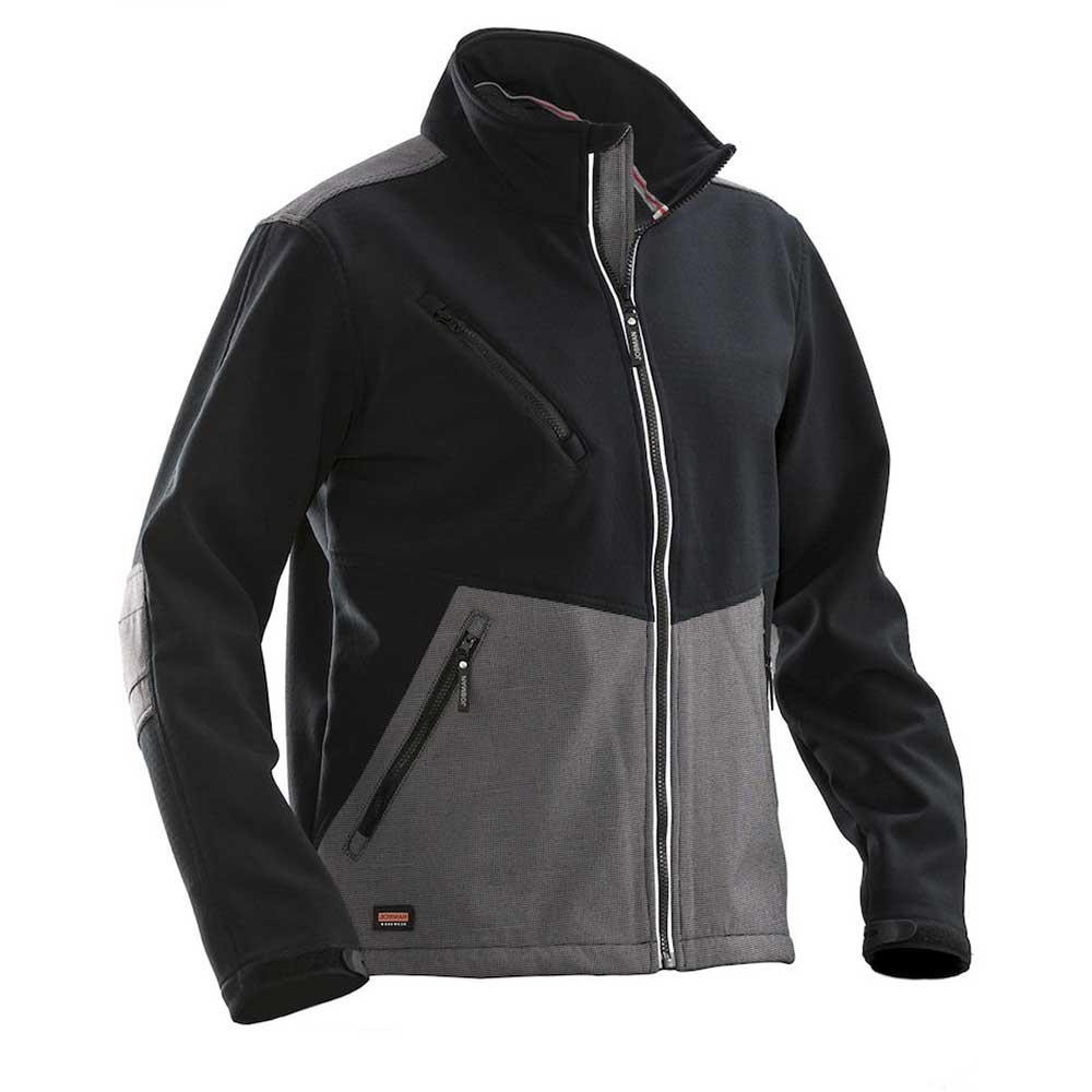 Softshell Advanced svart/mörkgrå