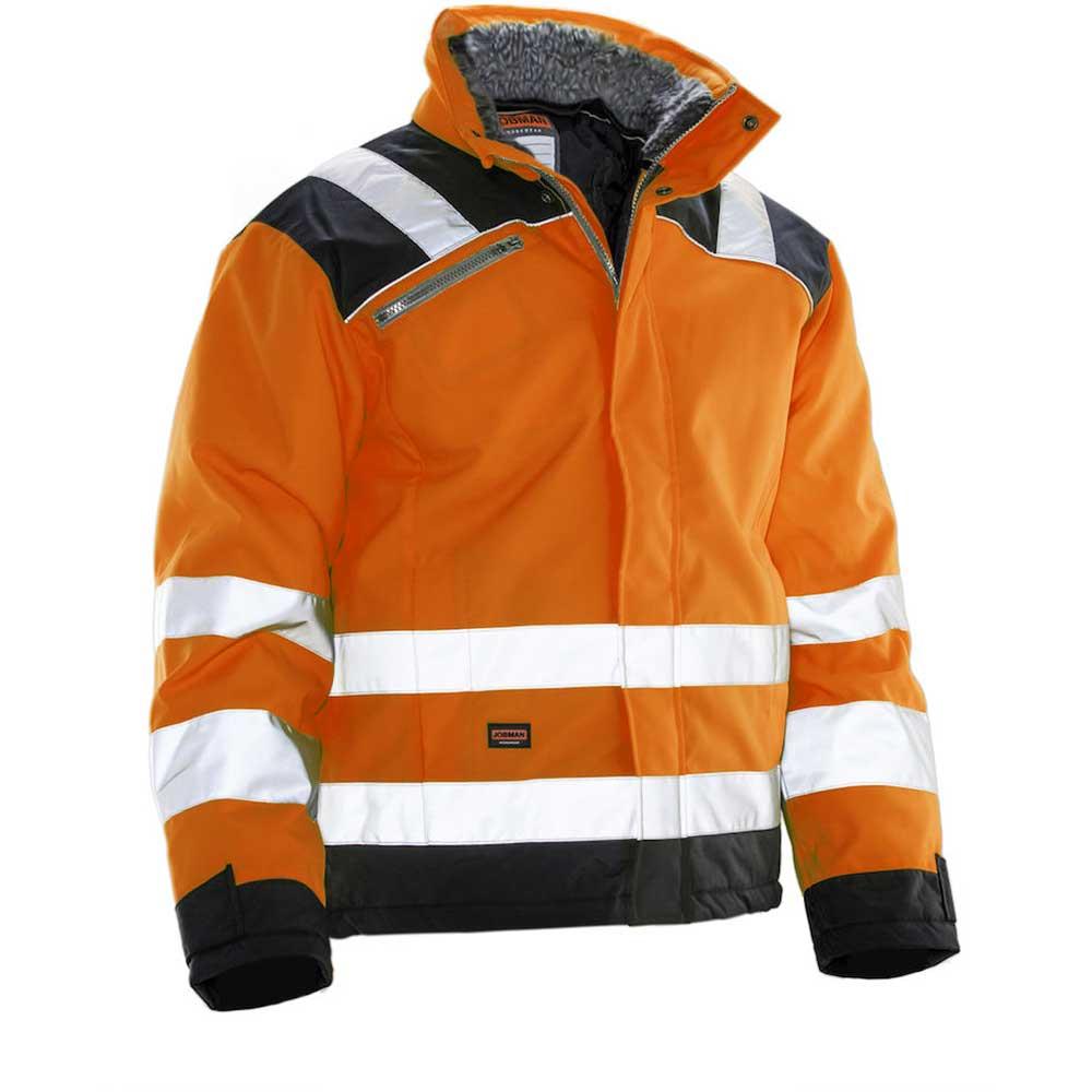 Vinterjacka Jobman Star orange/svart