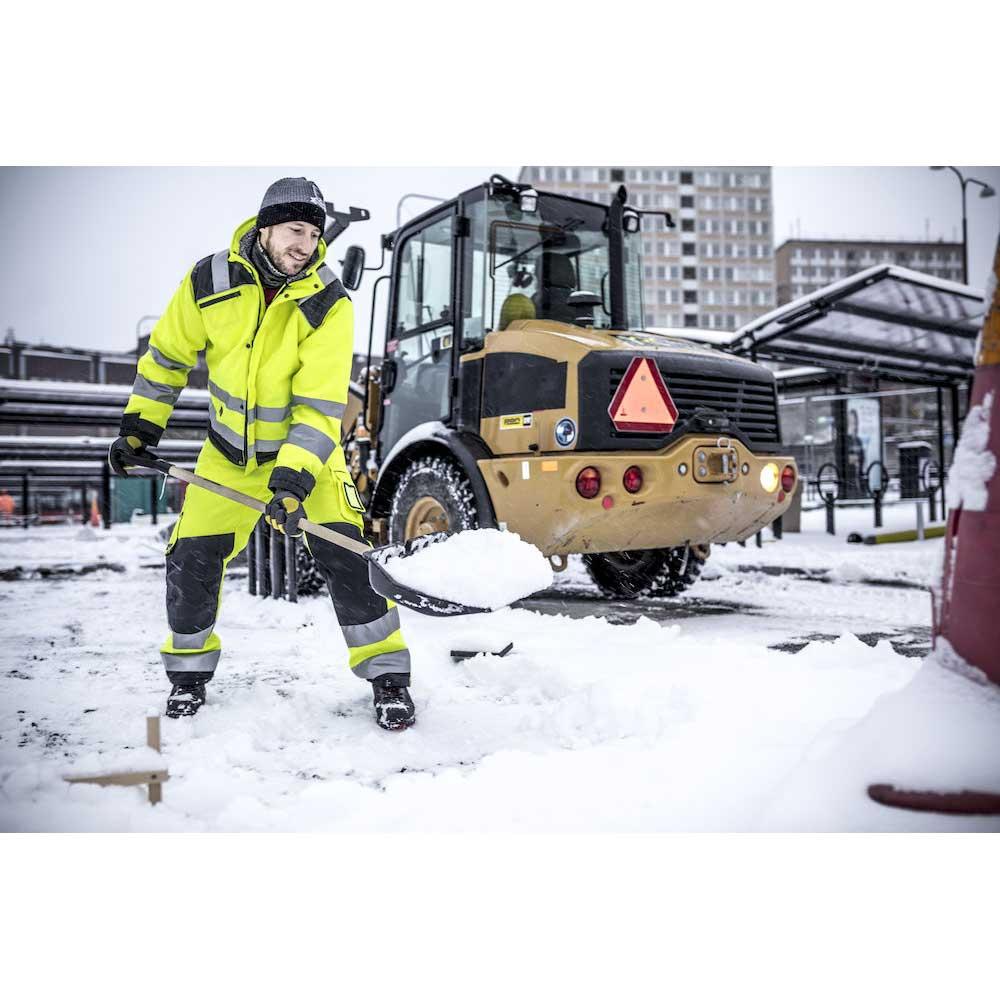 Vinterjacka Jobman Star gul/svart