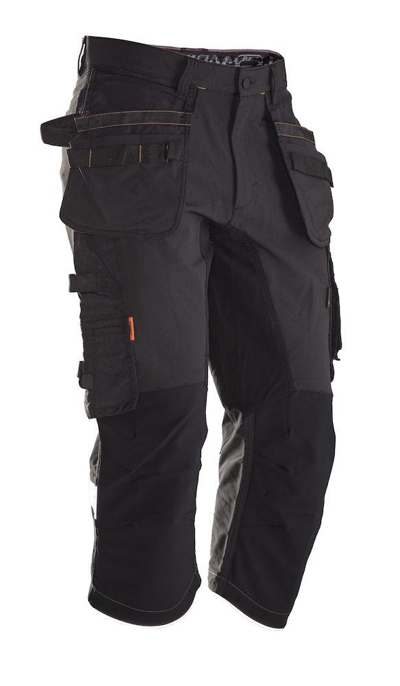 Piratbyxa Stretch svart