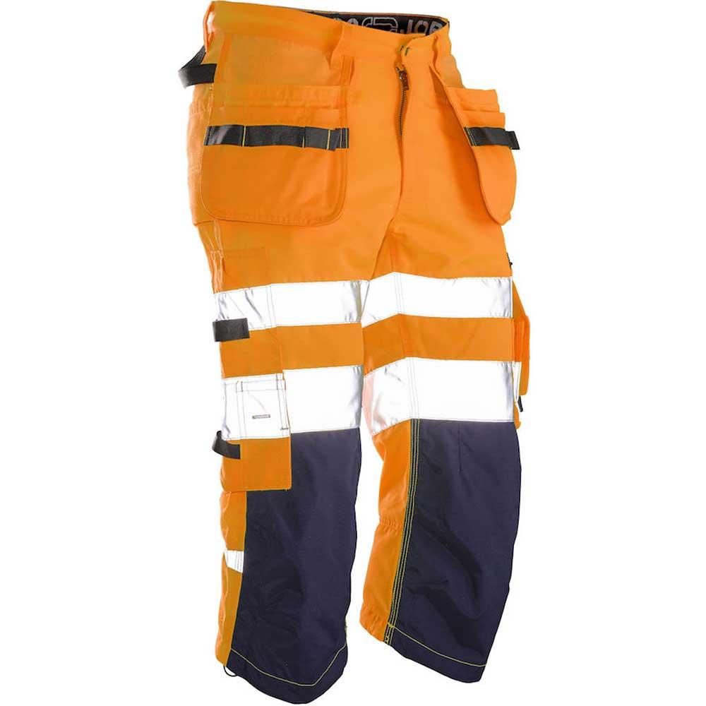 Piratbyxa Varsel Kl. 1/2 orange/marin