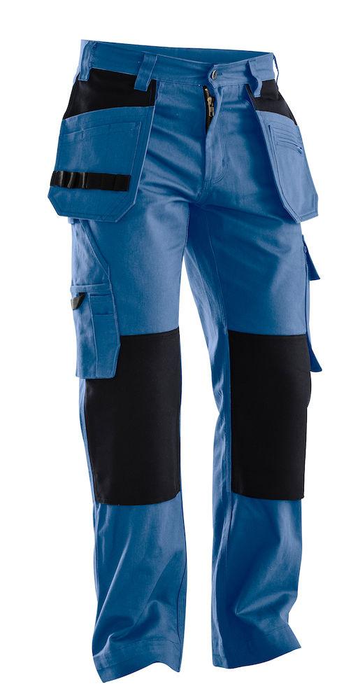 Hantverksbyxa Jobman blå/svart
