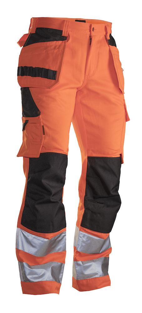 Hantverksbyxa Varsel Practical orange/svart