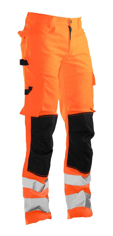 Servicebyxa Varsel orange/svart
