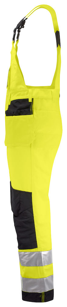Hängselbyxa klass 2 gul/svart