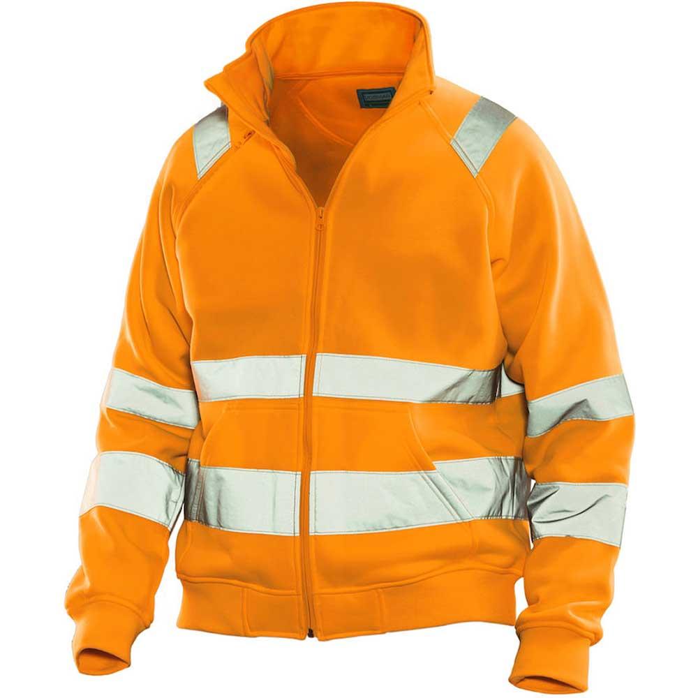 Jobman HV Fullzip orange