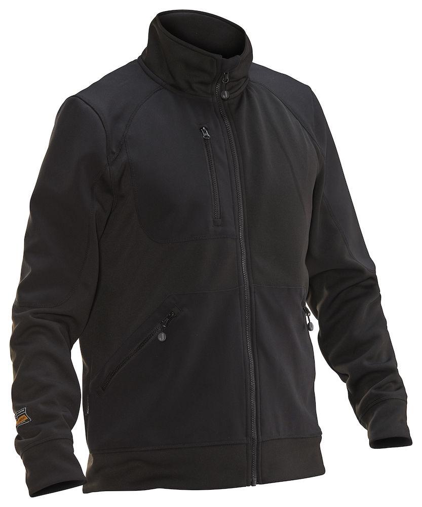 Jacka Spun-Dye svart