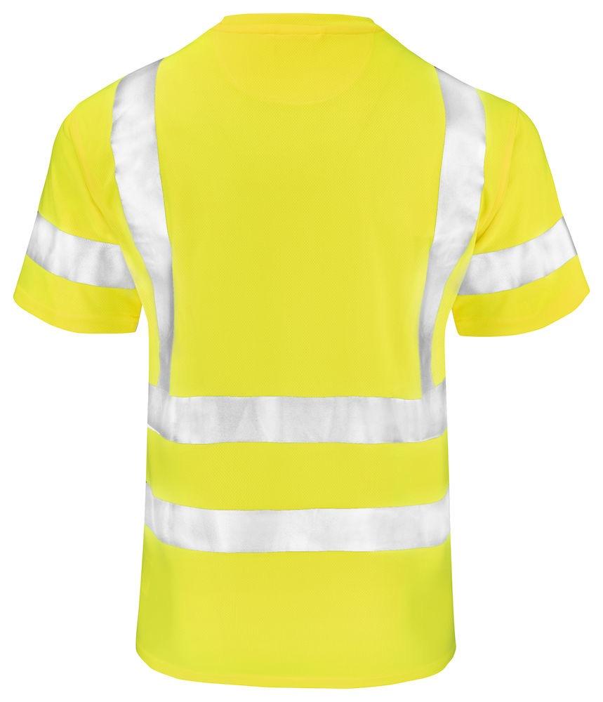 T-shirt varsel klass 2-3 gul