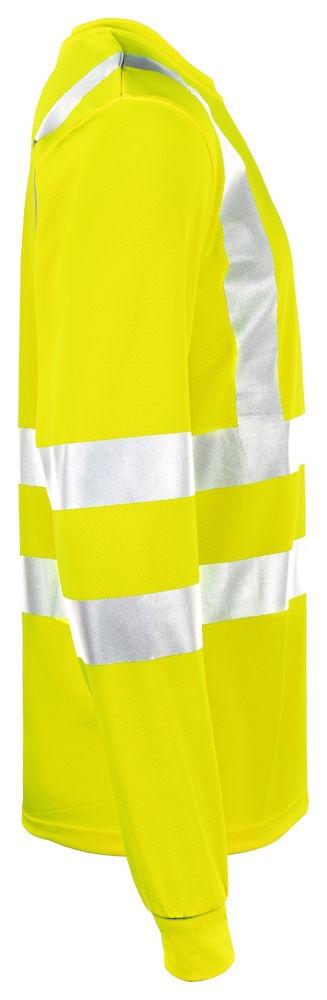Långärmad T-shirt Varsel kl. 2/3 gul