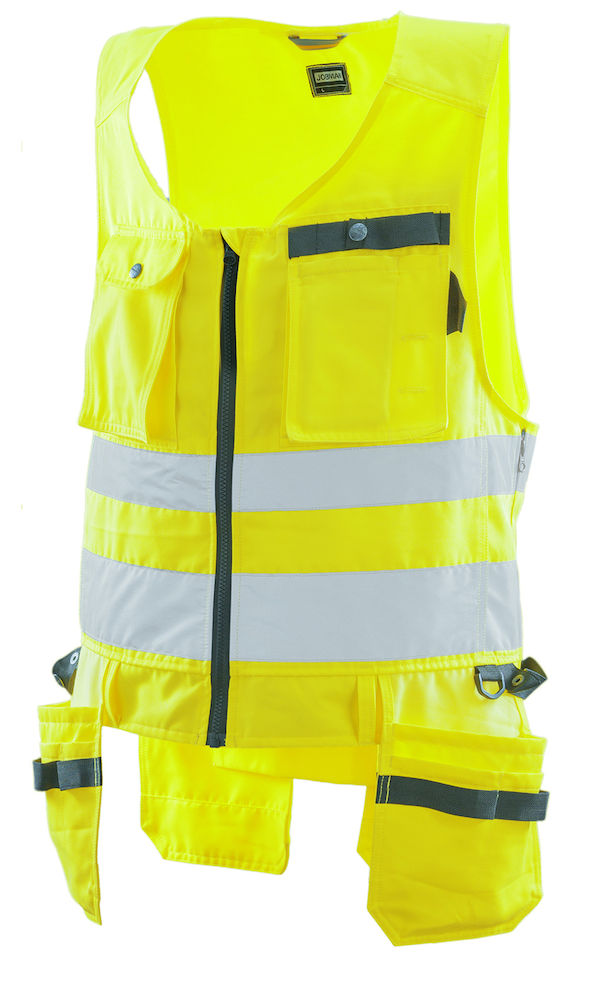 Hantverksväst Varsel gul