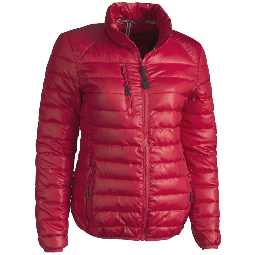 Light quilted jacket Dam röd