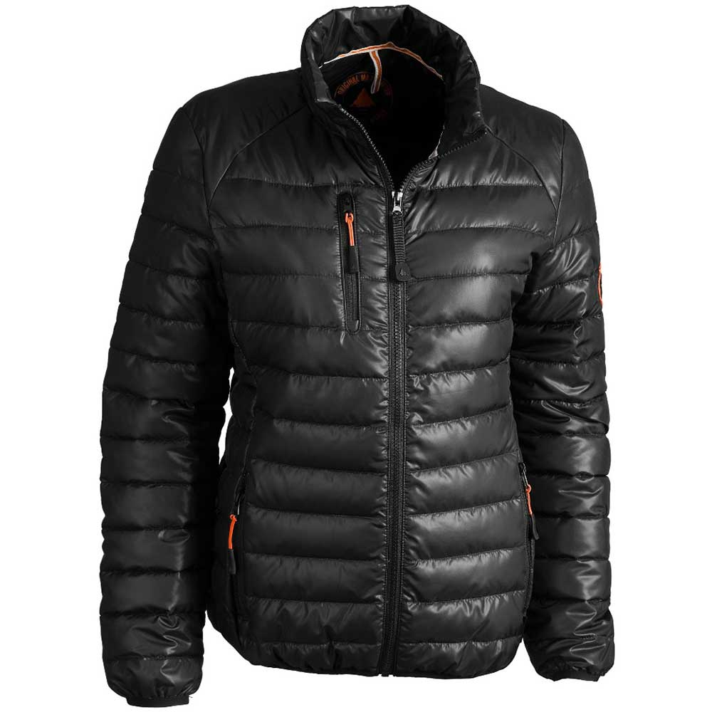 Light quilted jacket Dam svart