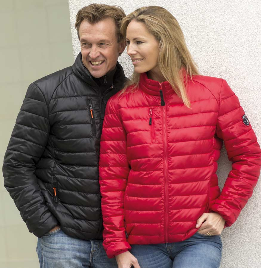 Light quilted jacket Herr marin