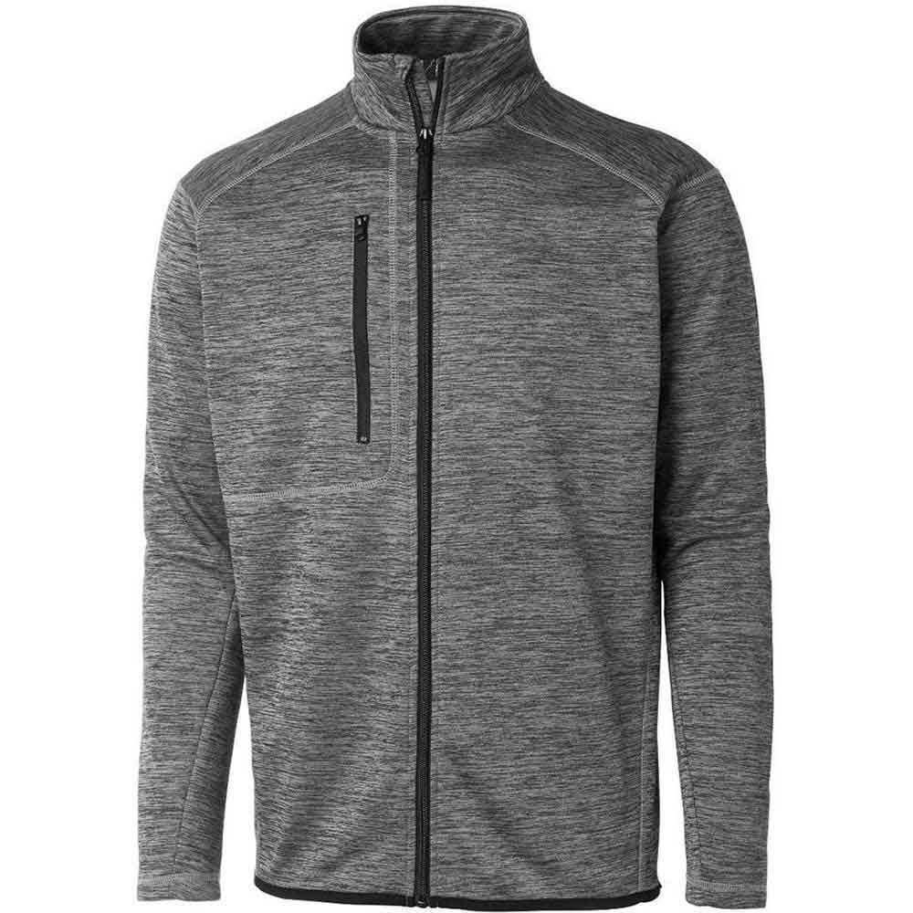 Power Fleece Jacket Herr grå