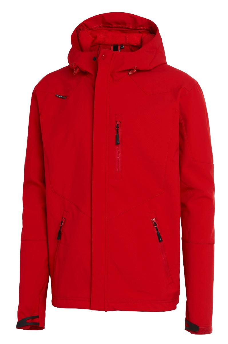 Shell Jacket Nanotex röd
