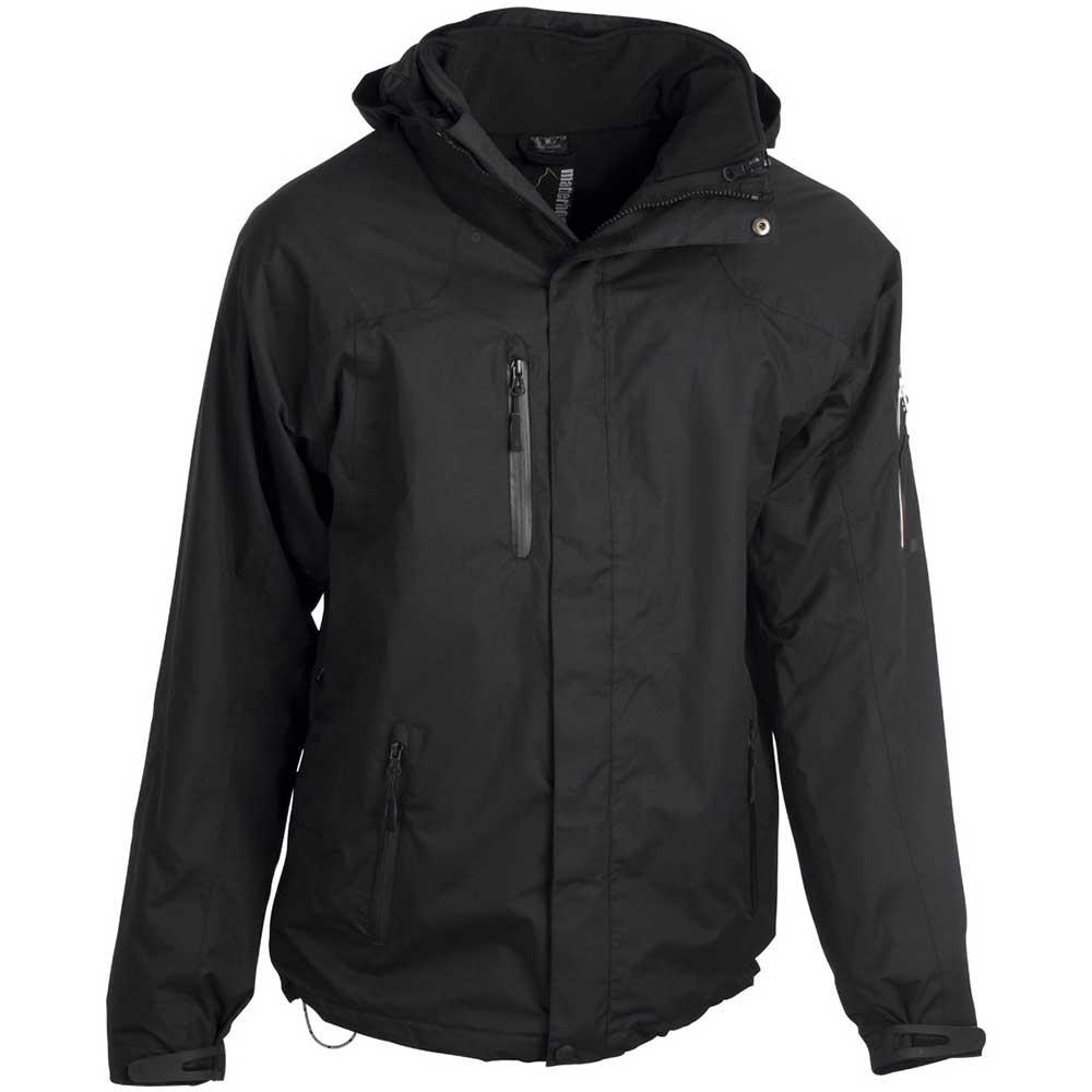 Tre-i-en womens jacket svart