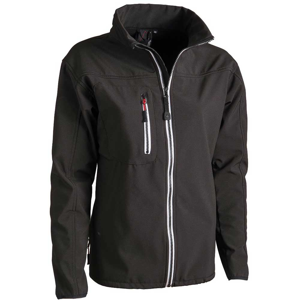 Mens Softshell jacket svart