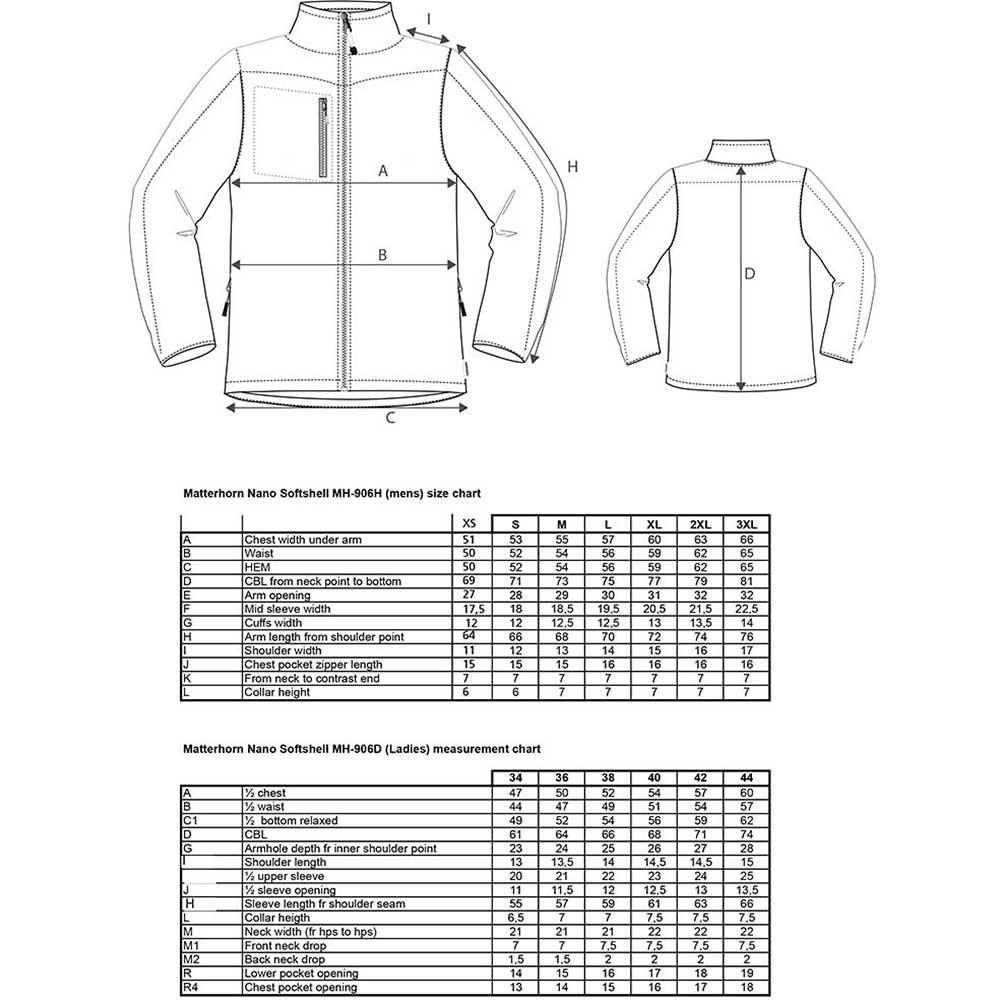 Mens Softshell jacket grå