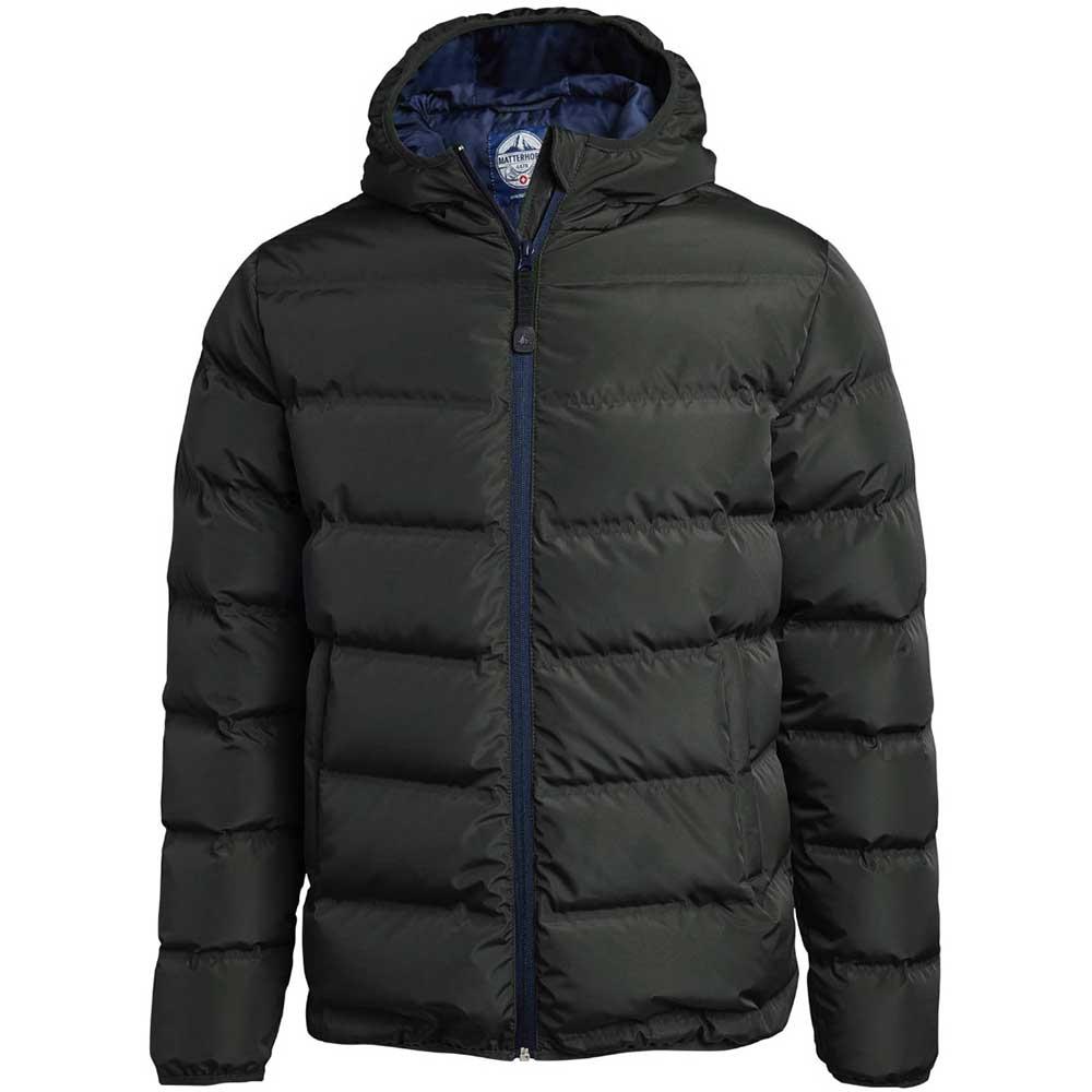 Down jacket grön
