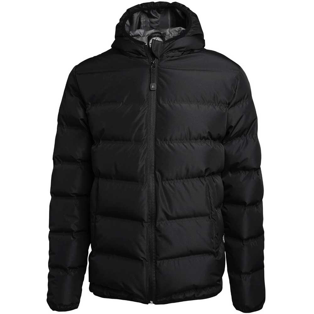 Down jacket svart